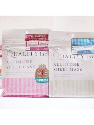 Mặt nạ giấy Quality First All in one Sheet Mask (giải I Cosme Nhật)