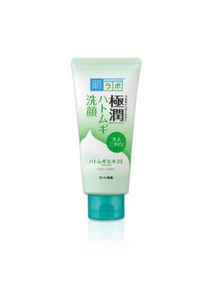 Sữa rửa mặt Hada Labo Gokujyun xanh lá cho da mụn