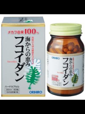Tảo ngăn ngừa ung thư Orihiro Fucoidan 90v Nhật Bản