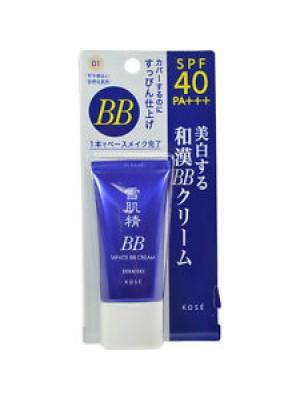 Kem trang điểm BB seikisei white cream 6 in 1