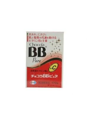 Thuốc trị mụn BB Chocola Pure  Nhât Bản hộp 170 viên
