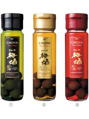 Rượu mơ Choya Umeshu đóng hộp (3 màu, xanh, đỏ , xanh lợt)