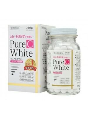 Viên uống trắng da Pure White C 240 viên Nhật Bản