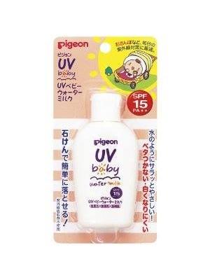 Kem chống nắng cho bé, SX tại Pigeon Nhật.