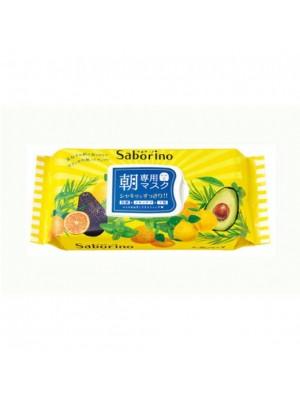Mặt nạ Saborino BCL Morning 100% cotton Nhật Bản