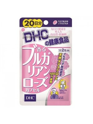 Viên uống DHC tinh dầu hoa hồng tạo hương thơm Nhật Bản