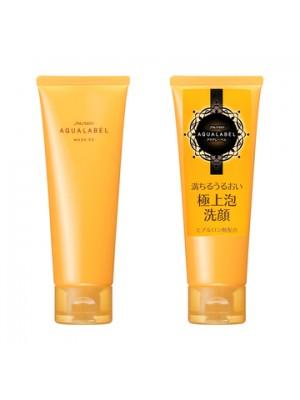 Sữa rửa mặt Shiseido Aqualabel wash EX màu vàng