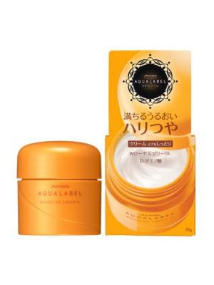 Kem dưỡng Shiseido Aqualabel Cream EX VÀNG cho da lão hóa