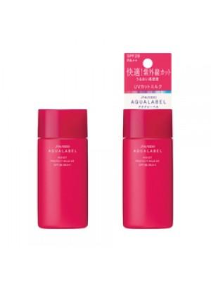 Sữa dưỡng da, chống nắng cho da thường và da khô Shiseido AquaLabel Protect Milk Uv SPF 28, PA++