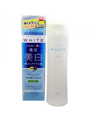 Nước hoa hồng Kose Moisture Mild White 180ml(làm trắng )