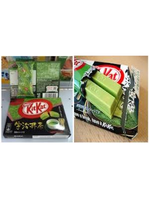 Bánh Kitkat trà xanh Nhật Bản