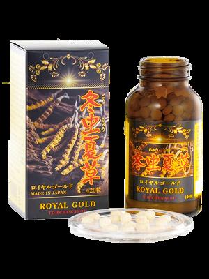 ĐÔNG TRÙNG HẠ THẢO ROYAL GOLD CORDYCEPS TOHCHUKASOU NHẬT BẢN- 420 viên