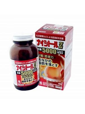 THUỐC GIẢM CÂN ĐẶC TRỊ MỠ BỤNG KOBAYASHI NAISHITORU Z5000 HỘP TO 420 VIÊN