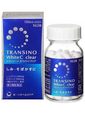 Viên uống trị nám làm trắng da cao cấp Transino White C clear của Nhật Bản