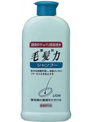 Dầu gội chống rụng tóc, kích thích mọc tóc Lion Kaminomoto của Nhật