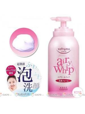 Sửa rửa mặt tẩy trang dạng bọt siêu mịn Kose Airy Whip Nhật