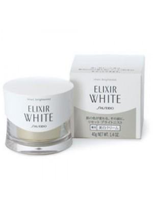 Kem dưỡng trắng da ban đêm cao cấp Elixir White Shiseido