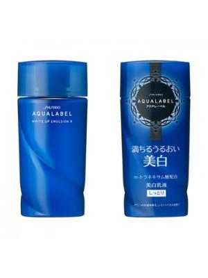 Sữa dưỡng trắng da Aqualabel của Shiseido MÀU XANH dành cho da dầu và da hổn hợp 130ml