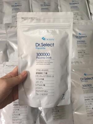 Tinh Chất Nhau Thai Heo Dr. Select Placenta Drink 300000 - Chống Lão Hóa, Trị Nám, Tàn Nhang - Gói 7 ngày dùng thử
