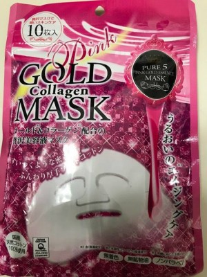 Gold Mask Collagen Pink
