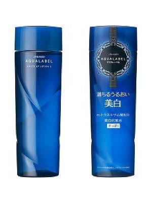 Nước hoa hồng Shiseido Aqualabel white up lotion dành cho da dầu và da hỗn hợp