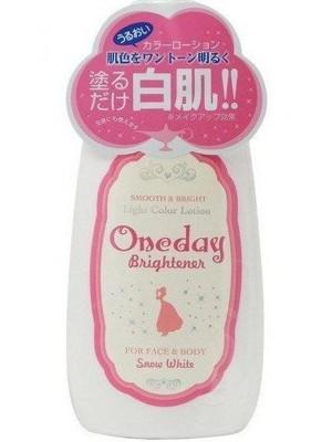 Sữa dưỡng trắng da toàn thân ONE DAY Brightener Nhật Bản