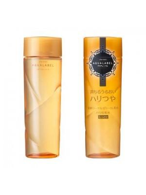 Nước hoa hồng Shiseido Aqualabel white up lotion MÀU VÀNG cho da hư tổn