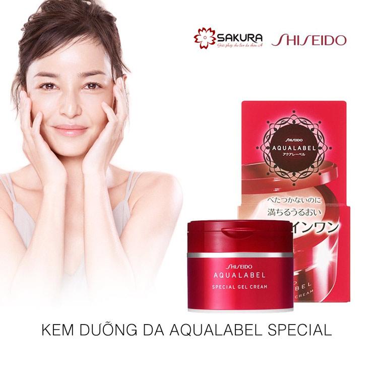 Kem dưỡng da Collagen Shiseido 5in1- là sự lựa chọn hàng đầu do da nhờn và khô.