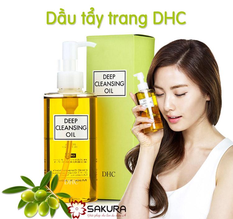 Dầu tẩy trang DHC Deep Cleansing Oil Nhật