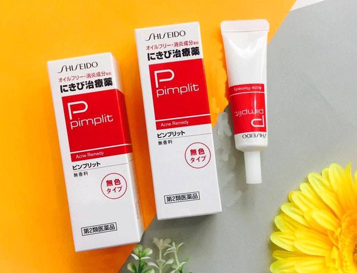 Kem trị mụn Shiseido Pimplit trị mụn hiệu quả, nhanh chóng, an toàn