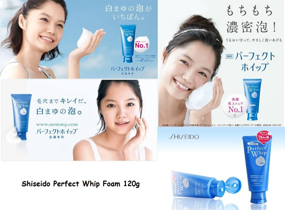 Sữa rửa Mặt Shiseido Perfect Whip chăm sóc da hiệu quả.