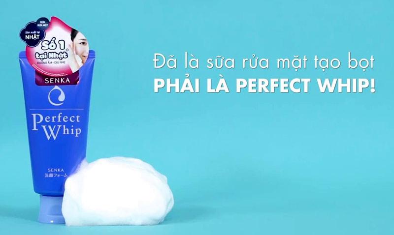 Sử dụng Sữa rửa Mặt Shiseido Perfect Whip bạn sẽ thích ngay lần đầu đầu tiên.