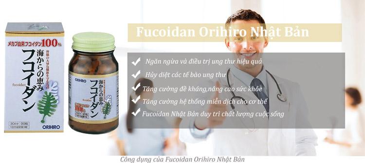 Tảo ngăn ngừa ung thư Orihiro Fucoidan