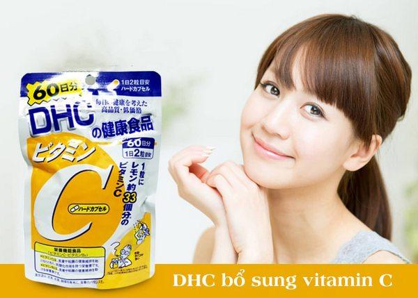 Viên DHC bổ sung Vitamin C