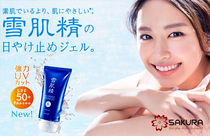 em chống nắng Kose Sekkisei Sun Protect bảo vệ sức khỏe tối ưu.