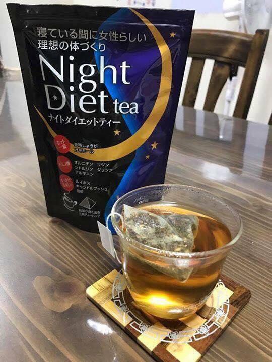 Trà giảm cân Orihiro Night Diet Tea giải pháp chống béo phì tối ưu cho dân văn phòng bận rộn